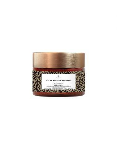 Body cream 250 ml - Relax refresh recharge - The gift label