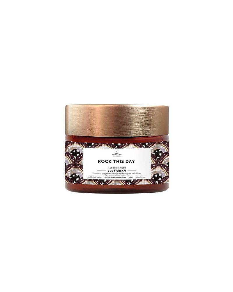 Body cream 250 ml - Rock this day - The gift label