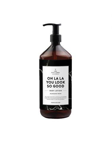Body lotion 1000 ml - Oh la la you look so good- The gift label