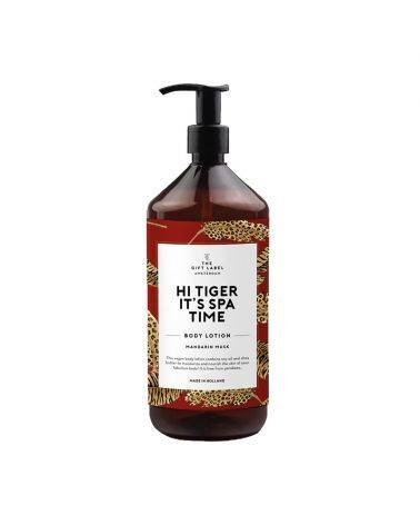 Body lotion 1000 ml - Hi tiger it's spa time - The gift label
