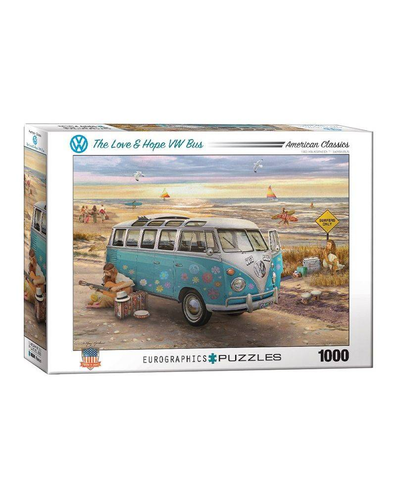 The love & hope VW bus 1000...