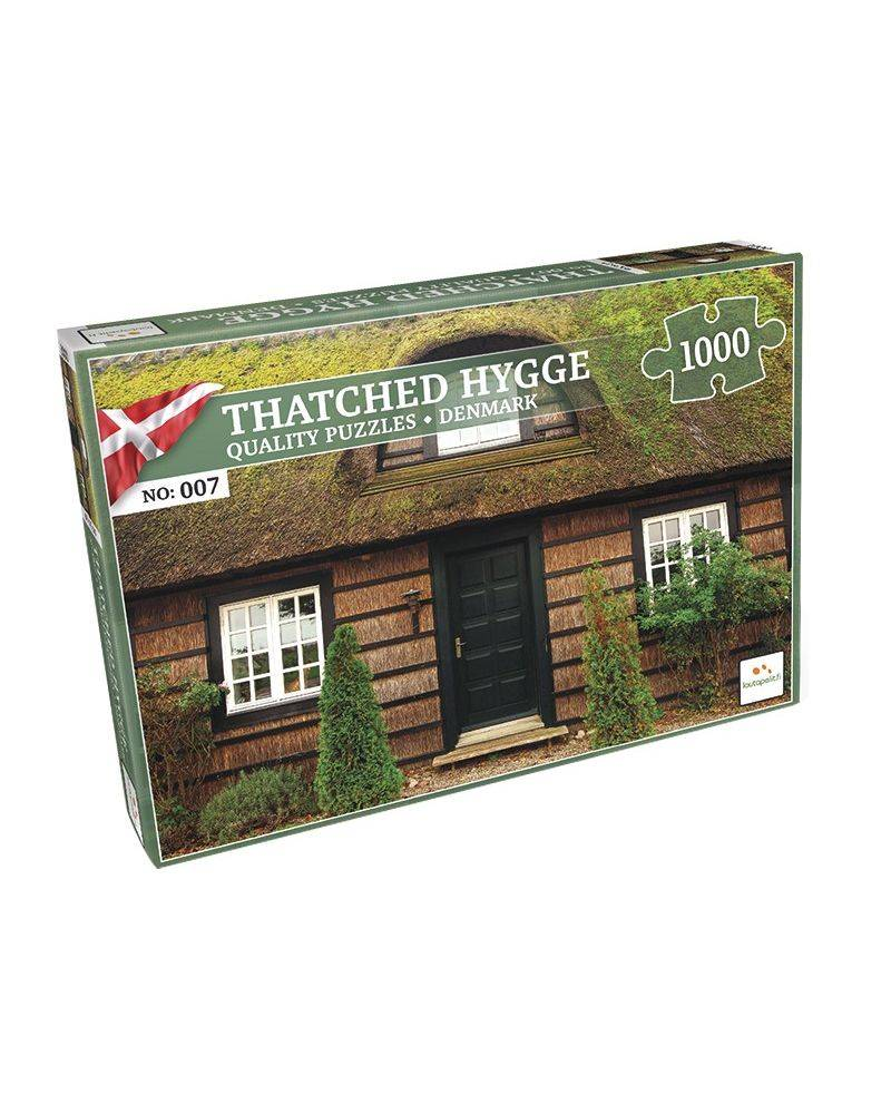 Thatched hygge 1000 brikker - Nordic