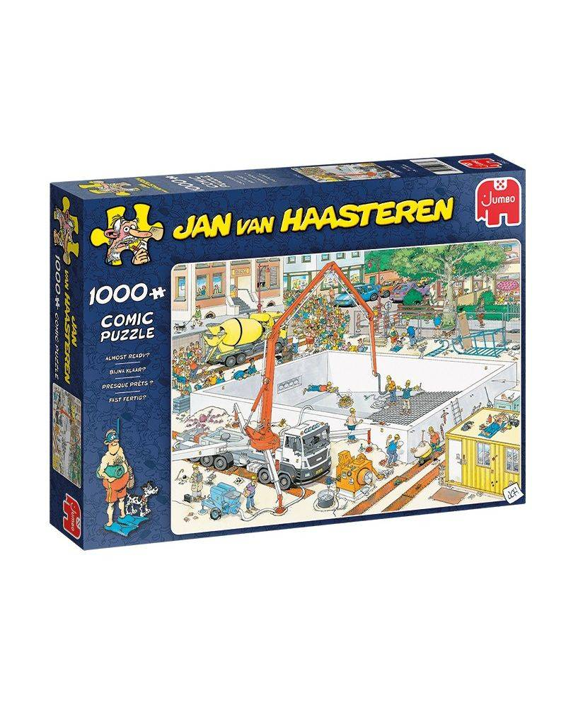 Almost ready 1000 brikker - Jan van Haasteren