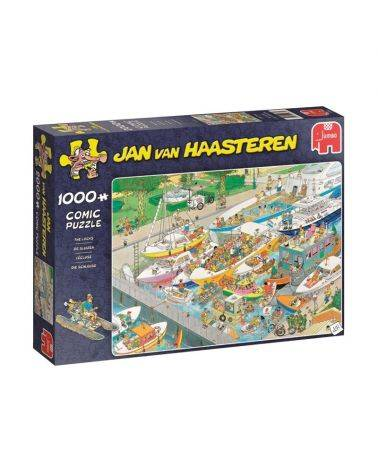 The locks 1000 brikker - Jan van Haasteren