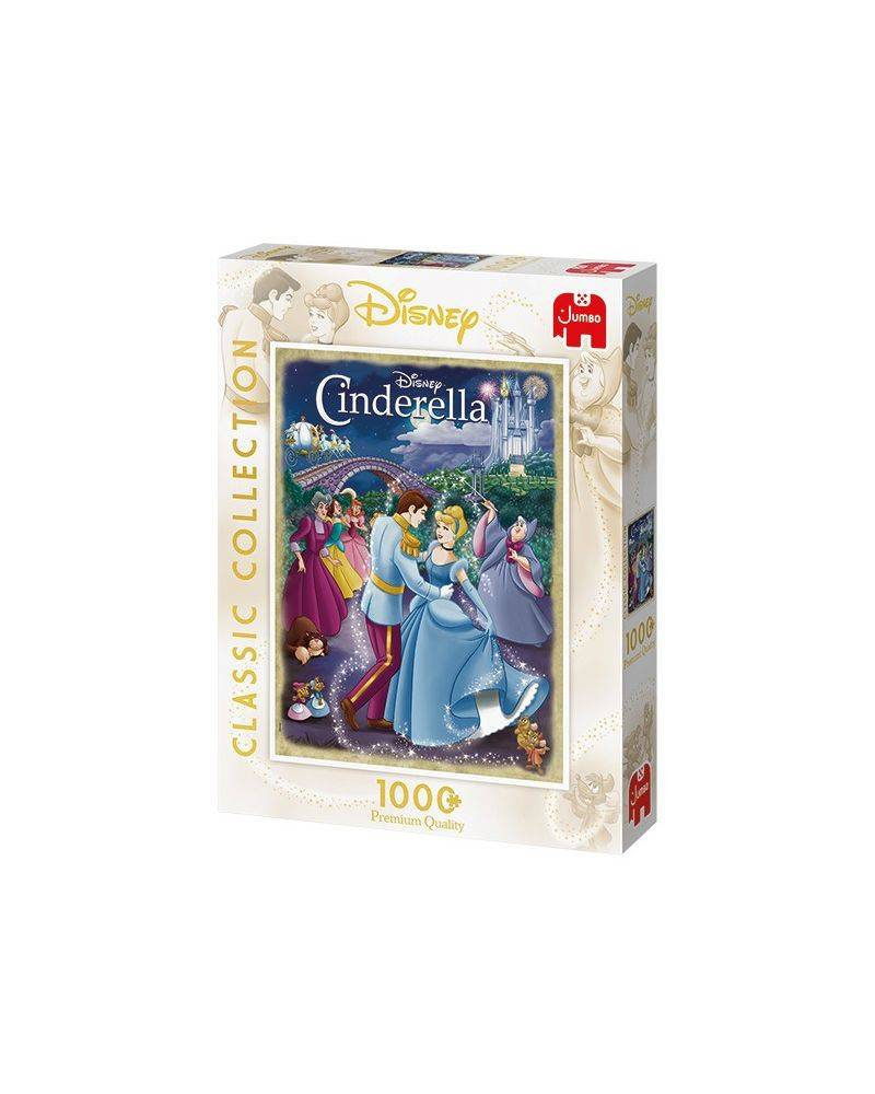 Askepot 1000 brikker - Disney classic collection Jumbo