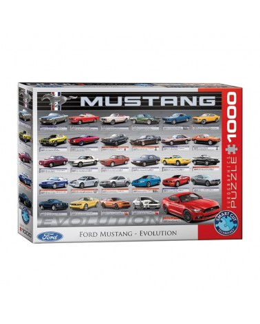 Ford Mustang evolution 1000 brikker - Eurographics