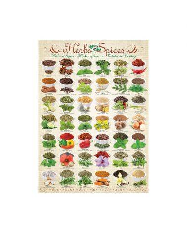 Herbs and Spices 1000 brikker - Eurographics