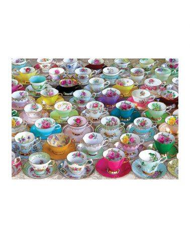 Tea cups collection 1000 brikker - Eurographics