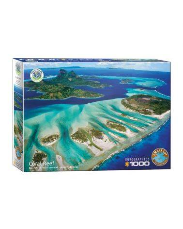 Coral reef- Save the planet collection 1000 brikker - Eurographics