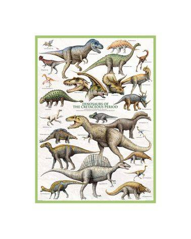 Dinosaurs of the cretaceous 1000 brikker - Eurographics