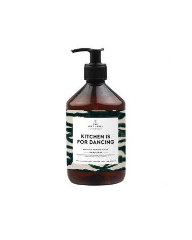 Håndsæbe 500 ml - Kitchen is for dancing - The gift label