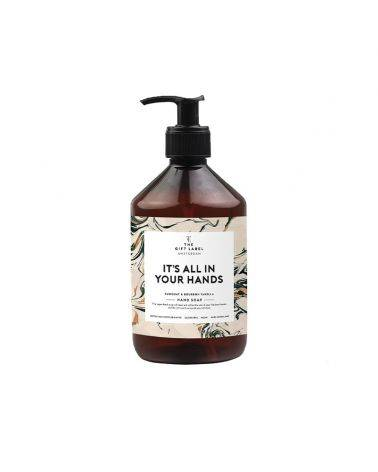 Håndsæbe 500 ml - It is all in your hands - The gift label