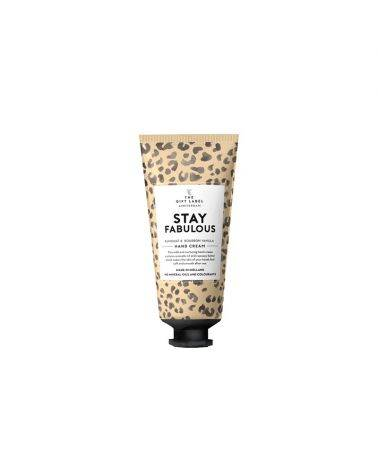 Håndcreme tube 40 ml - Stay fabulous - The gift label